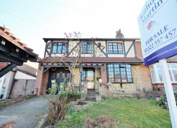Thumbnail 4 bed semi-detached house for sale in Northall Road, Bexleyheath