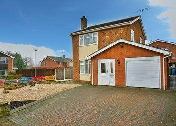 Thumbnail 3 bed detached house for sale in Chatsworth Road, Worksop