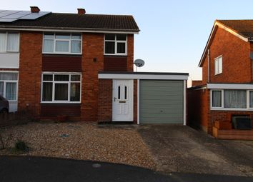 Thumbnail 3 bed semi-detached house to rent in Bramber Close, Bletchley, Milton Keynes