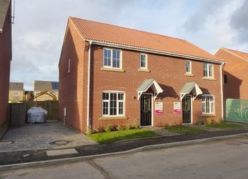 Thumbnail 3 bedroom semi-detached house for sale in Sayers Crescent, Wisbech St. Mary, Wisbech