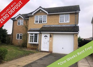Thumbnail 4 bedroom detached house to rent in Roman Crescent, Swaffham