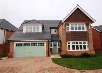 Thumbnail 5 bed detached house for sale in Silverwell Close, Northampton