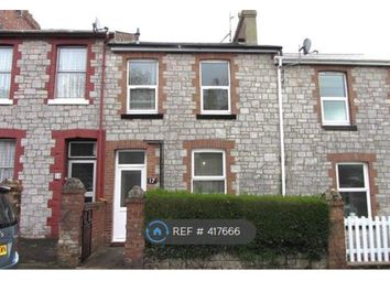 Thumbnail 2 bed terraced house to rent in Happaway Road, Torquay