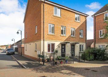 Thumbnail 4 bedroom town house for sale in Farrow Avenue, Hampton Vale, Peterborough