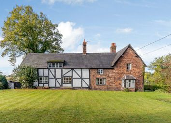Thumbnail 3 bed detached house for sale in Vicarage Lane, Bunbury, Tarporley