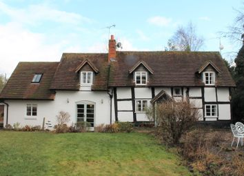 Thumbnail 4 bed country house for sale in Church Lane, Little Witley, Worcester