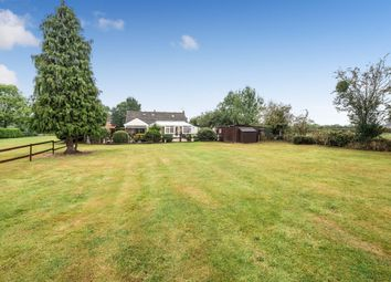 Thumbnail 4 bed detached bungalow for sale in Bath Road, Broomhall, Worcester