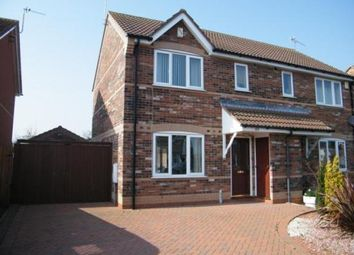 Thumbnail 3 bed semi-detached house for sale in Amos Way, Sibsey