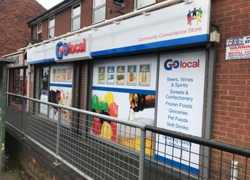Thumbnail Retail premises for sale in Mansfield Road, Alfreton