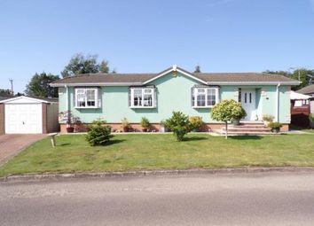Thumbnail 2 bed mobile/park home for sale in Lodge Park, Langham, Rutland