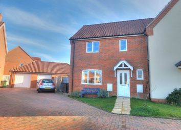 Thumbnail 3 bed semi-detached house for sale in Maurecourt Drive, Norwich