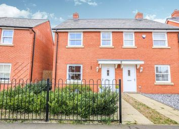 Thumbnail 3 bed semi-detached house for sale in Planets Way, Biggleswade, Bedfordshire, .