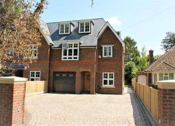 Thumbnail 4 bed semi-detached house for sale in Westcar Lane, Hersham, Walton-On-Thames