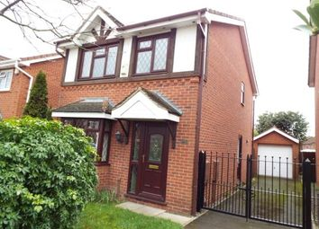 Thumbnail 3 bedroom detached house for sale in Glenfield Road, Western Park, Leicester, Leicestershire