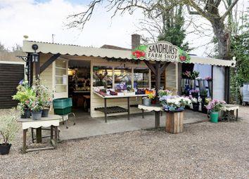 Thumbnail Commercial property for sale in Sandhurst Farm Shop, Queen Street, Sandhurst, Cranbrook