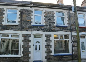 Thumbnail 3 bed terraced house to rent in Oakfield Street, Llanbradach, Caerphilly
