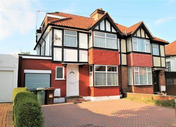 Thumbnail 4 bed semi-detached house to rent in Cavendish Avenue, Sudbury Hill, Harrow