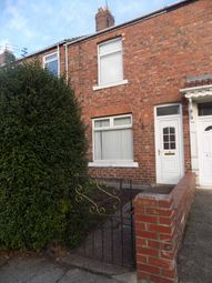 Thumbnail 2 bed terraced house to rent in Albion Avenue, Shildon, Co. Durham