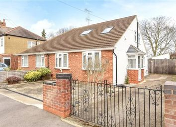 Thumbnail 4 bed semi-detached bungalow for sale in Brightside Avenue, Staines-Upon-Thames, Surrey