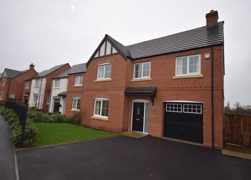 Thumbnail 4 bed detached house to rent in Meadow Fields, Rolleston-On-Dove, Burton-On-Trent