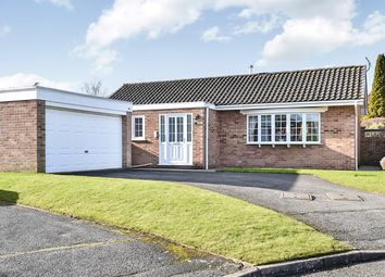 Thumbnail 3 bed detached bungalow for sale in Rolleston Close, Hucknall, Nottingham