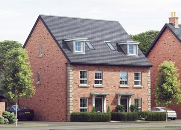"Thumbnail 4 bedroom semi-detached house for sale in ""Rochester"" at Harbury Lane, Heathcote, Warwick"
