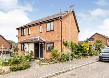 Thumbnail 2 bed semi-detached house for sale in Worcester Way, Attleborough