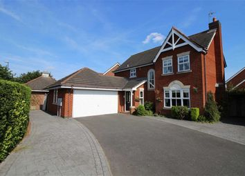 Thumbnail 4 bed detached house for sale in Gayton Thorpe Close, Littleover, Derby