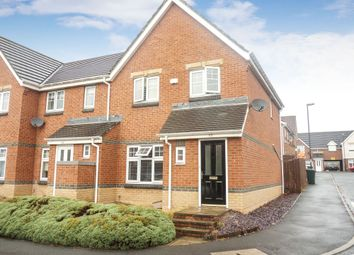 Thumbnail 3 bed semi-detached house for sale in Caesar Way, Wallsend