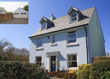 Thumbnail 5 bed detached house for sale in Greenhill Road, Staddiscombe, Plymouth