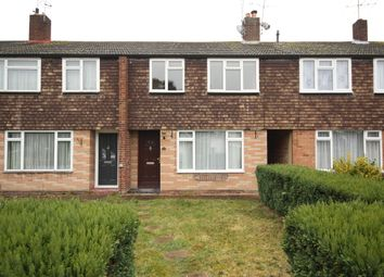 Thumbnail 3 bed terraced house to rent in Connaught Crescent, Brookwood, Woking