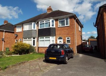 Thumbnail 3 bed semi-detached house for sale in Chapel Fields Road, Solihull