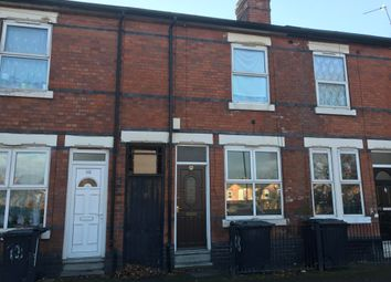 Thumbnail 3 bedroom terraced house for sale in Havelock Road, Derby