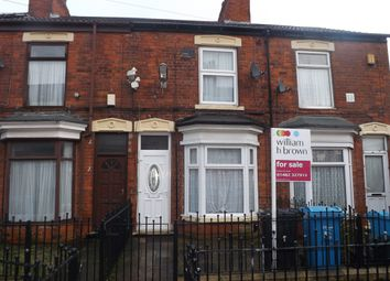 Thumbnail 2 bedroom terraced house for sale in Glencoe Villas, New Bridge Road, Hull