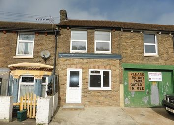 Thumbnail 2 bed end terrace house to rent in Coombe Valley Road, Dover