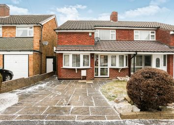Thumbnail 3 bed semi-detached house for sale in Ipswich Crescent, Great Barr, Birmingham