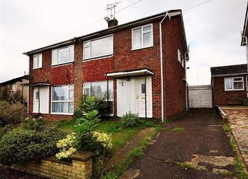Thumbnail 3 bed semi-detached house for sale in Wickenden Crescent, Willesborough, Ashford