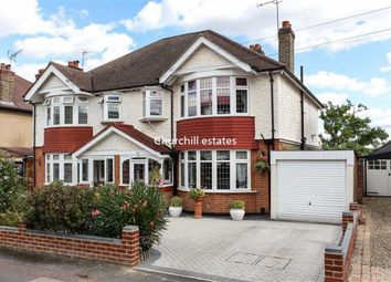 Thumbnail 3 bed semi-detached house for sale in Kings Avenue, Woodford Green