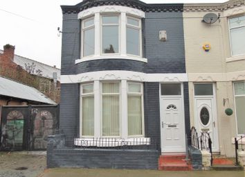 Thumbnail 3 bed end terrace house to rent in Wenlock Road, Anfield, Liverpool