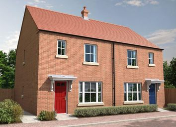 Thumbnail 3 bed semi-detached house for sale in Meadow Way, Spalding
