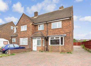 Thumbnail 3 bed semi-detached house for sale in Holly Road, Strood, Rochester, Kent