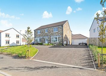 Thumbnail 4 bed detached house for sale in Rew Helygen, Probus, Truro