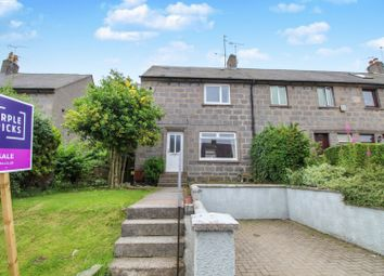 Thumbnail 2 bedroom end terrace house for sale in Tollohill Crescent, Kincorth, Aberdeen
