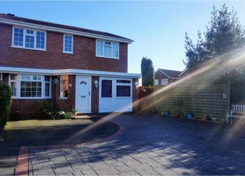 Thumbnail 4 bedroom detached house for sale in Forest Road, Market Drayton