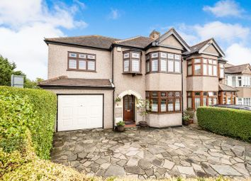 Thumbnail 4 bed semi-detached house for sale in Hillfoot Road, Romford
