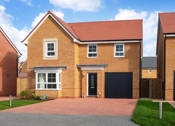 "Thumbnail 4 bed detached house for sale in ""Haltwhistle"" at The Ridge, London Road, Hampton Vale, Peterborough"
