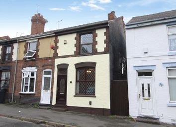 Thumbnail 2 bed end terrace house for sale in Vicarage Road, Wednesbury