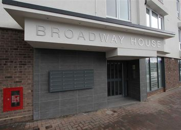 Thumbnail 2 bed flat to rent in Broadway House, Wickford, Essex