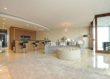 Thumbnail 2 bed flat to rent in The Tower, 1 St George Wharf, Vauxhall