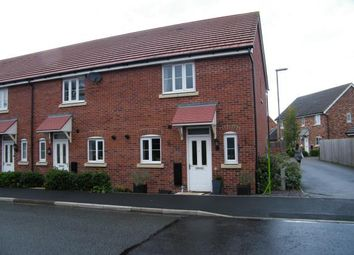 Thumbnail 2 bed end terrace house for sale in St. David Mews, Weston, Crewe, Cheshire
